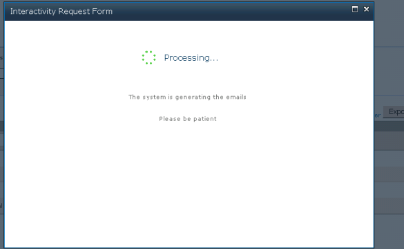 Processing notifying users